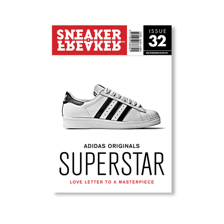 buy online 3f857 08554 Sneaker Freaker Issue 32 Adidas Superstar 1