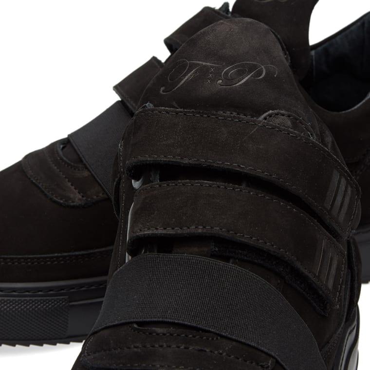 b325054c3ad Filling Pieces Low Top Double Strap Sneaker (Triple Black)