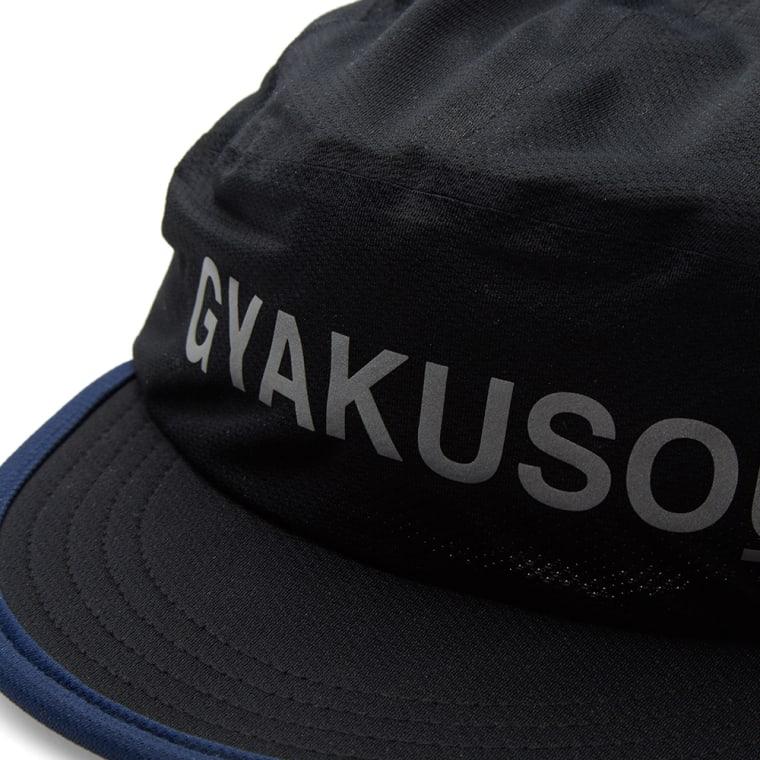 Nike x Undercover Gyakusou Dri-Fit Mesh Racer Cap Black   Deep Pewter 2 ef519340f4c