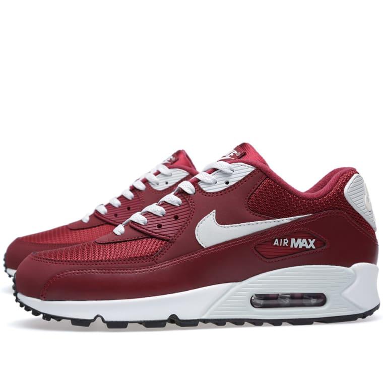 Nike Air Max 90 Ultra Essential 819474 012 Dark GreyBlackTeam Red