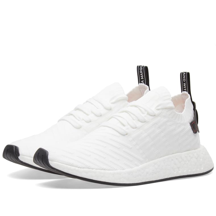new product f3fef ae327 cheap adidas nmd r primeknit white black by3015 for sale