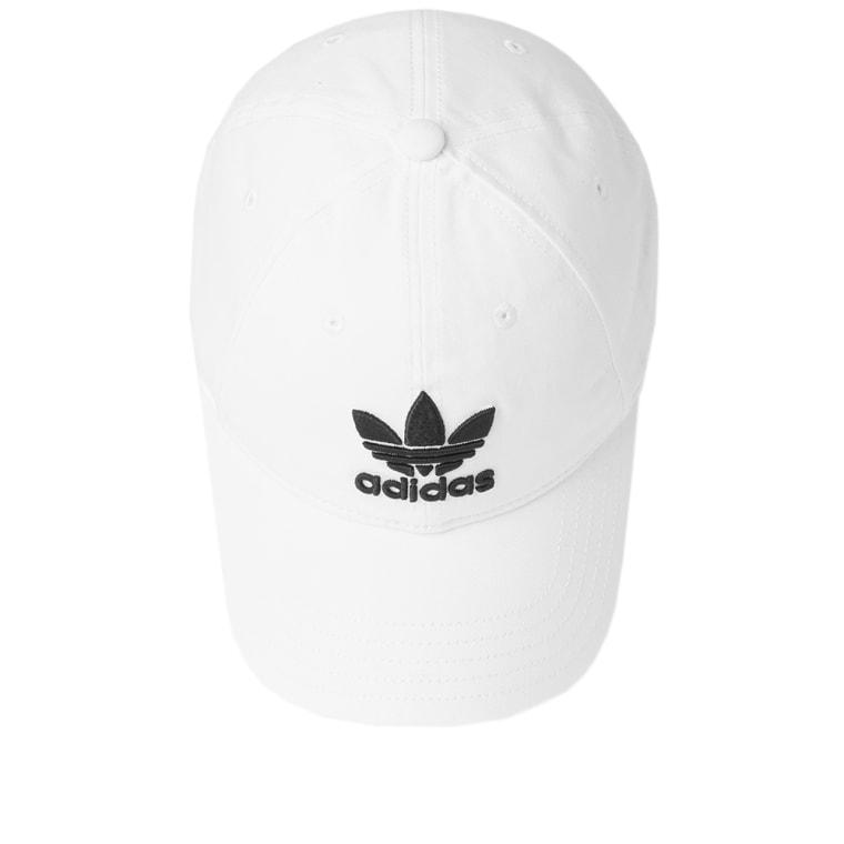 Adidas Trefoil Cap White End