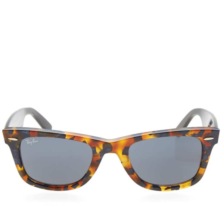 99415d0b071fb 17b81 fbdaf spain ray ban original wayfarer fleck sunglasses spotted blue  havana grey 2 4e14f 12ed2 ...