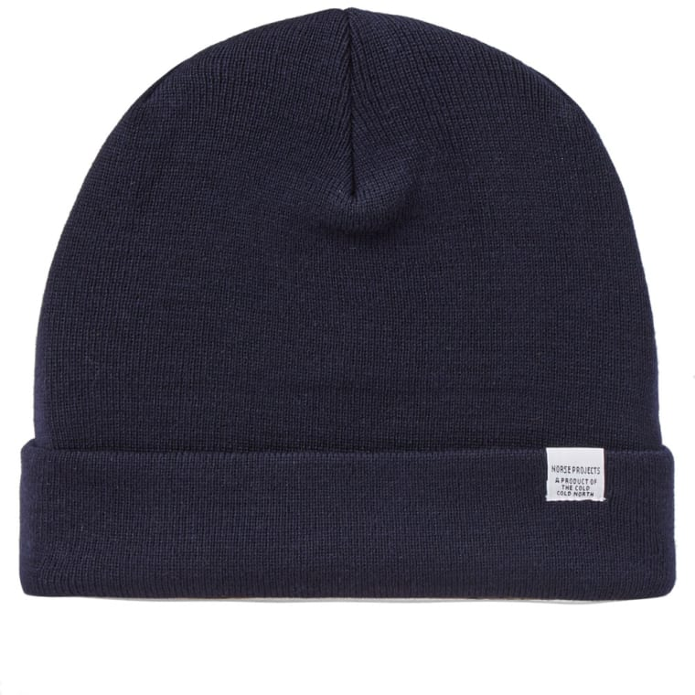 Norse Projects Top Beanie (Navy)  3419f87eeae