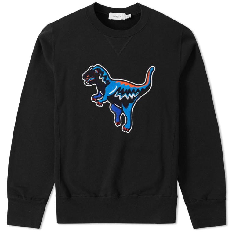 Coach T-Rex Crew Sweat (Black)  706dcd9b4012