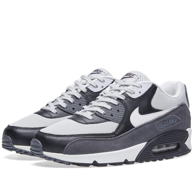 Nike Air Max 90 Essential Grey Mist \u0026 White 1