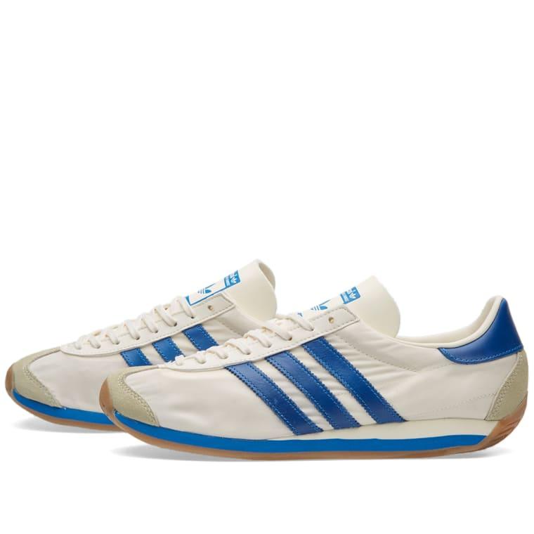 new concept e274e b016f Adidas Country OG Chalk White  Bluebird 4