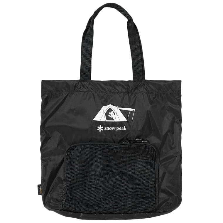 Medicom X Snow Peak Packable Tote Bag Black 1