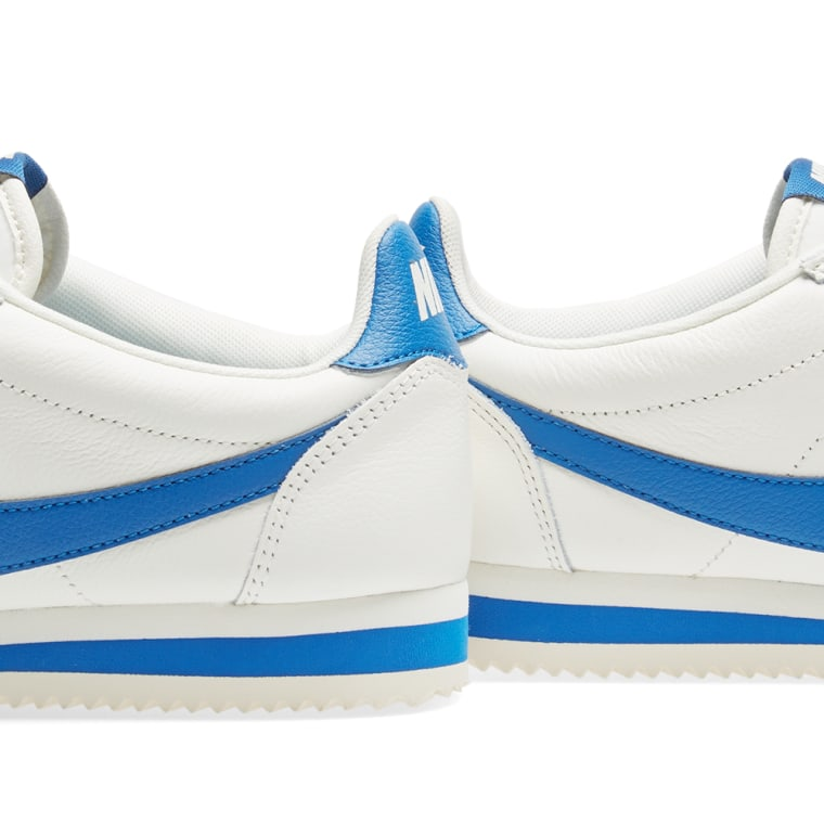 online retailer e958c ab6b7 ... get nike classic cortez leather se sail blue jay 4 505bb 240cb