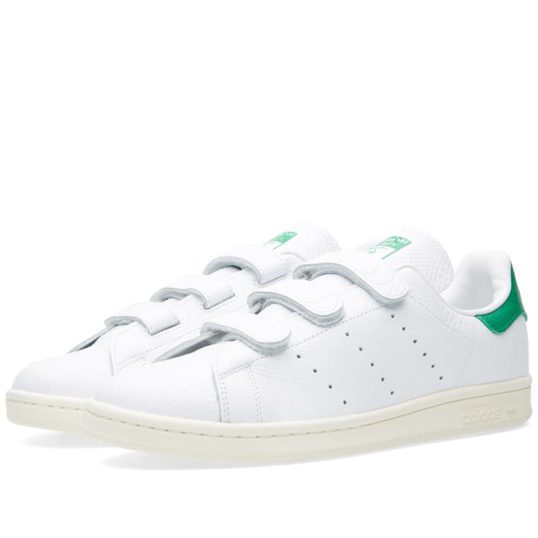 designer fashion f3f0d 5a485 ... czech adidas stan smith cf white green cream white 2 bd382 388b7 ...