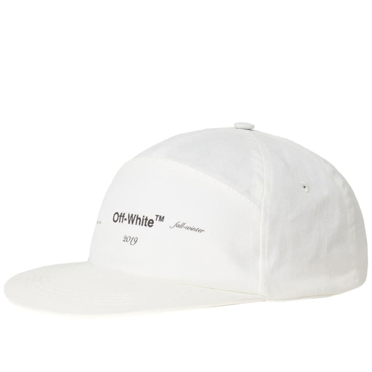 Off-White Snapback Logo Cap (Off White)  c01e92b7a9c