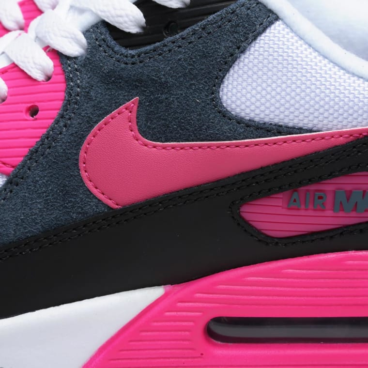 factory price 00a27 aa3bc ... clearance nike air max 90 essential white pink foil black 1 ed142 f85c6