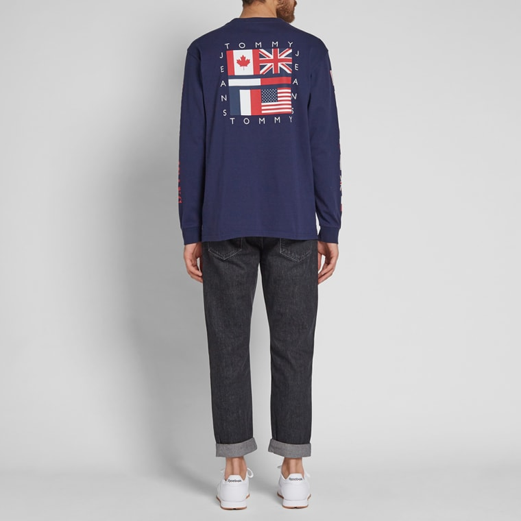 3e5eb6278 Tommy Jeans Long Sleeve 90s CN Tee (Peacoat) | END.