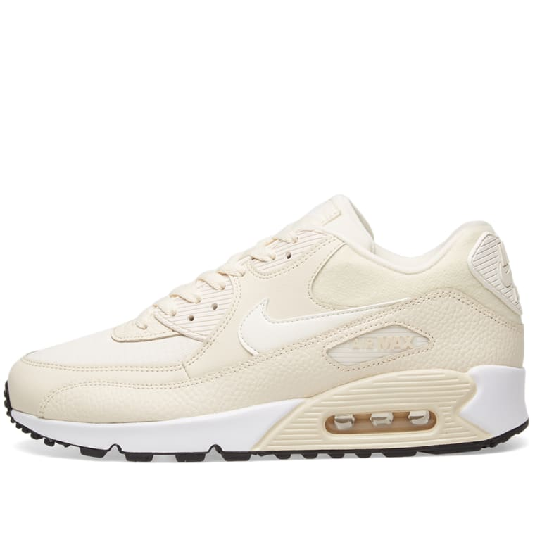 best website 86342 294ef nike air max 90 sail noir light bone