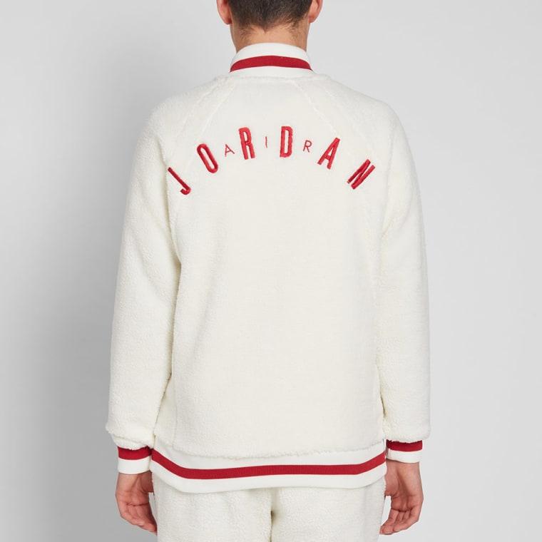 7af5c5b54ab337 Nike Air Jordan Sportswear AJ 1 Fleece Jacket Sail Gym .