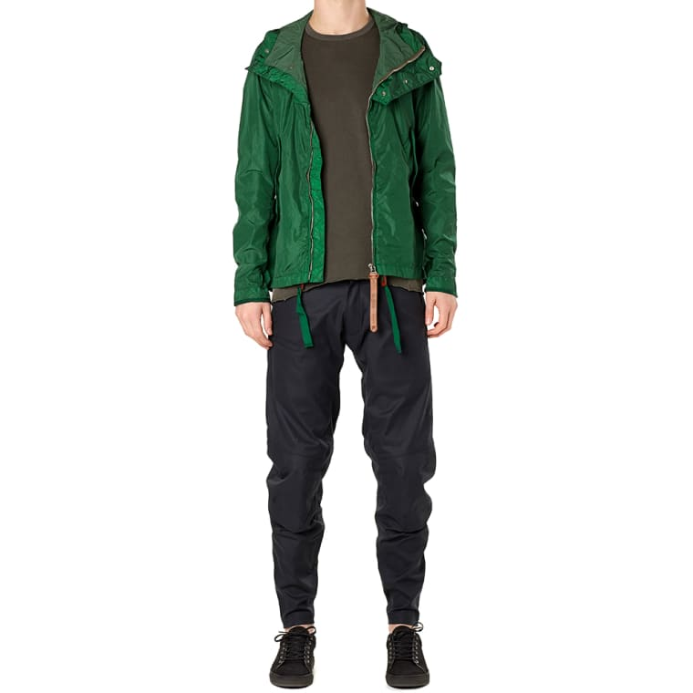 Nemen NMN_E15036 Short Fishtail Parka (Emerald Green) | END.