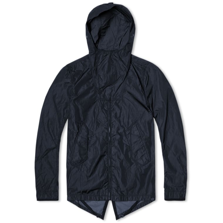 Nemen NMN_E15036 Short Fishtail Parka (Navy) | END.