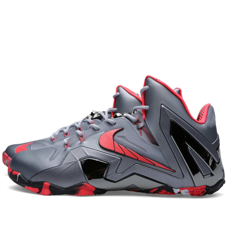 d70a9041a02674 Lebron 11 Elite Team Wolf Grey City Of London Running Routes
