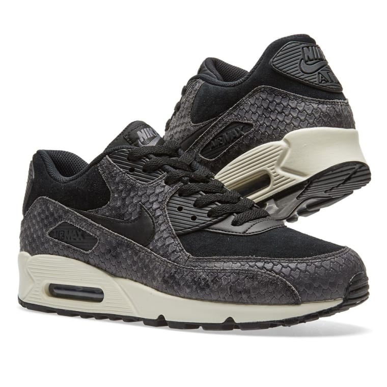 new styles 77932 7632f ... switzerland nike air max 90 premium w black sail dark grey 7 1900d ce7e9