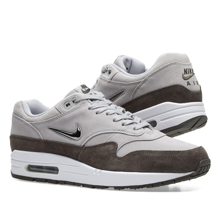 b509edf0f6 ... Jewel Wolf Grey AA0512-002; Nike Air Max 1 Premium SC W Wolf Grey  Metallic Pewter ...