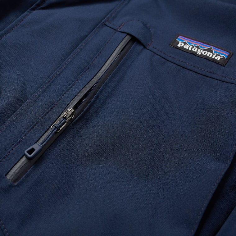 Patagonia Topley Jacket Navy Blue End