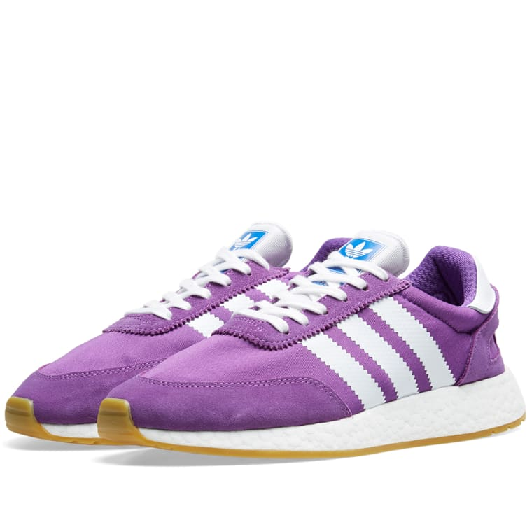 Adidas I-5923 W Active Purple, White & Gum 1