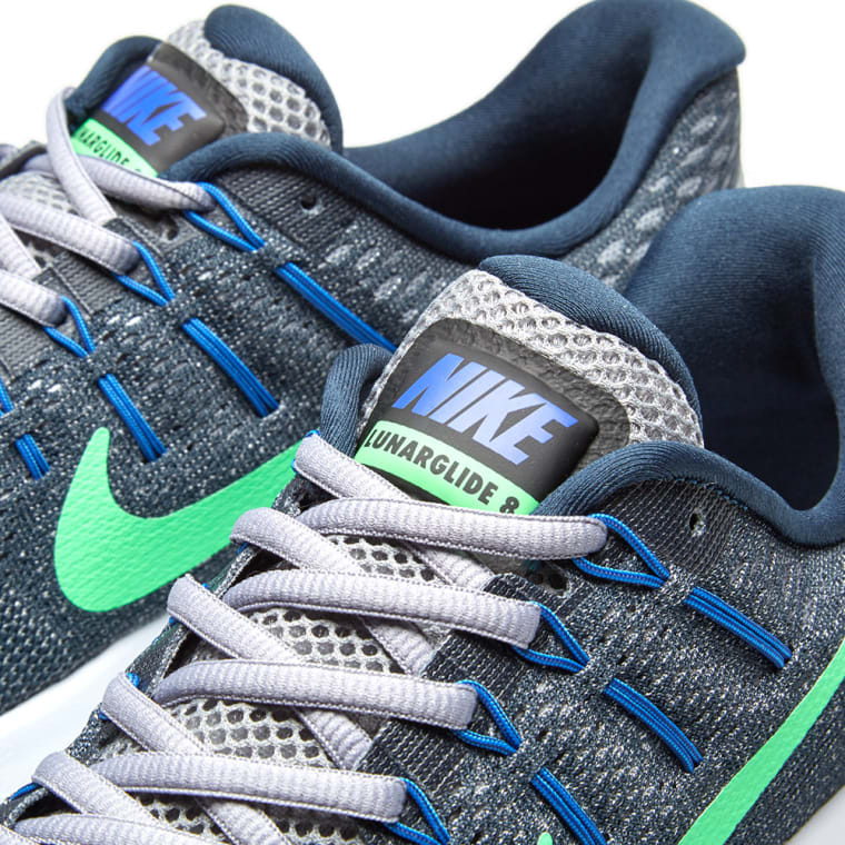 separation shoes b2a12 90164 ... italy nike lunarglide 8 armory navy electro green 3 ce865 f9b70