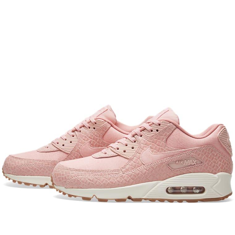 5f3262bb36b0 ... Nike W Air Max 90 Premium Pink Glaze Pearl Pink ...