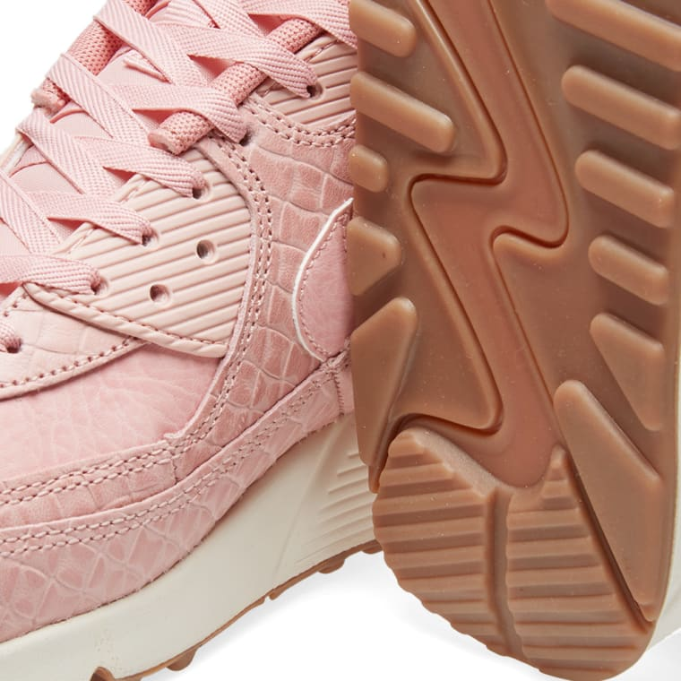 5caaaa9cd249 ... where to buy nike w air max 90 premium pink glaze pearl pink 4 a8639  6ba51