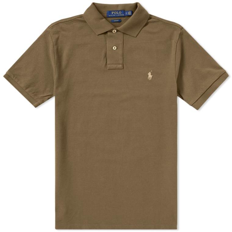 Polo Ralph Lauren Slim Fit Polo Defender Green 1