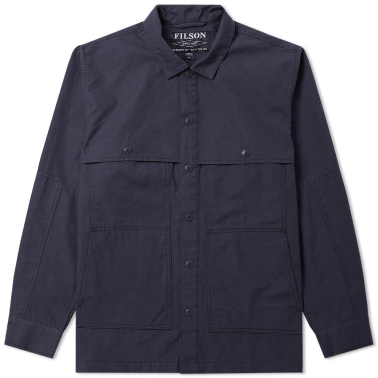 Filson Lightweight Jac Shirt Jacket (Midnight Navy) | END.