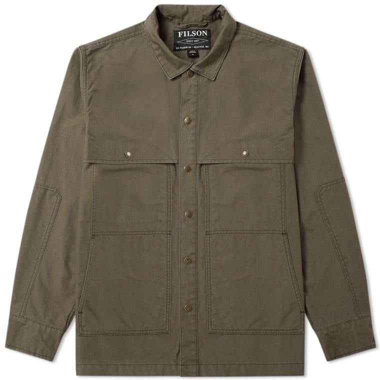 Filson Lightweight Jac Shirt Jacket (Otter Green) | END.