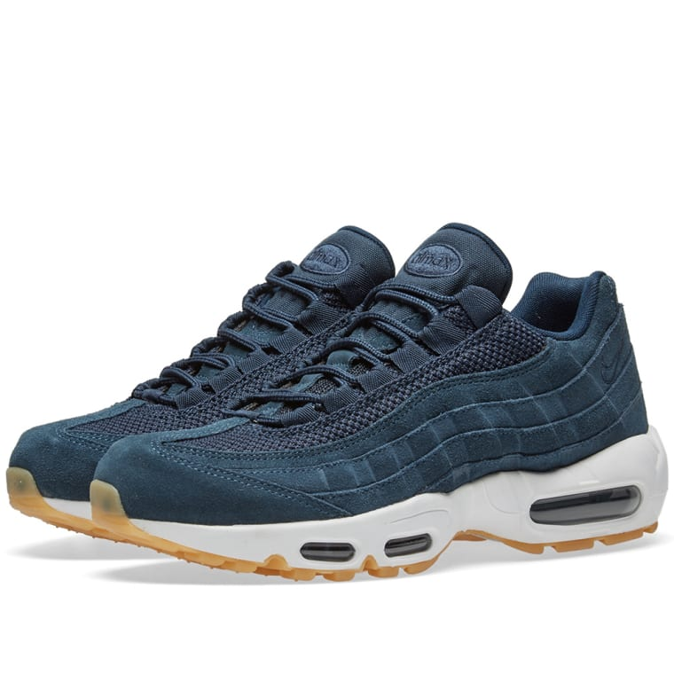 premium selection 7c266 72090 nike air max 95 navy