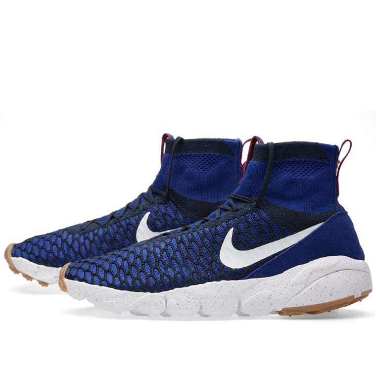 a43adfa6885 ... Nike Air Footscape Magista Flyknit. Deep Royal Blue White. 205 99. Plus  Free