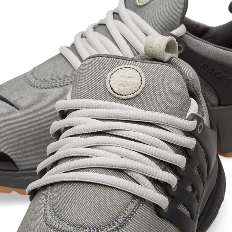 Nike Air Presto Premium Tumbled Grey Amp Granite End