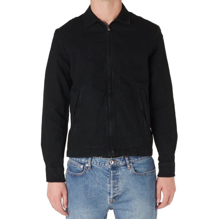 Our Legacy Fine Blouson (Washed Sweet Black)