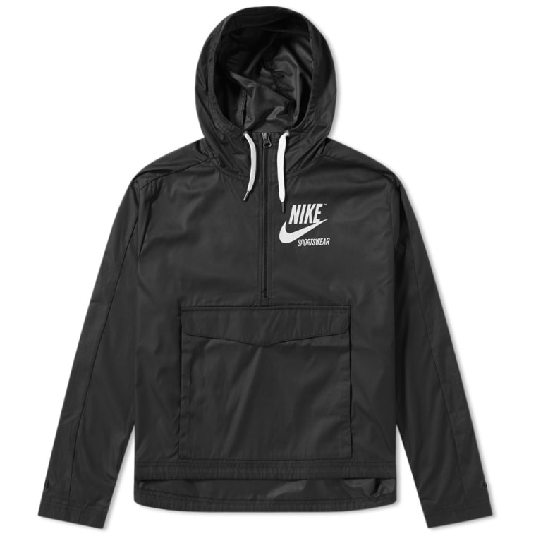 Nike Archive Pullover Jacket W (Black & Sail) | END.