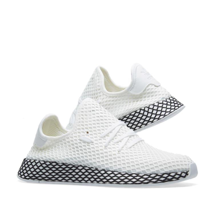 Adidas Deerupt Runner (White & Core Black) | END.
