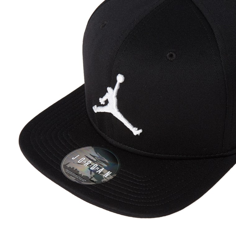 f9ed1b31683 ... reduced nike jordan jumpman snapback cap black white 4 d3b62 e64fc