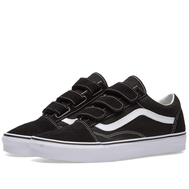 Vans Old Skool V (Black   True White)  4e07ae90063b