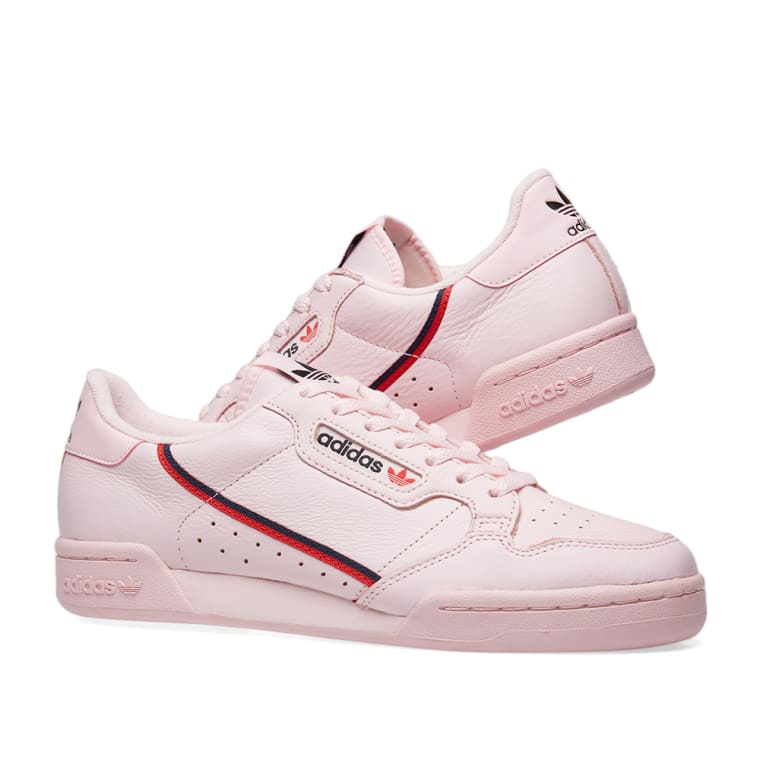 Adidas Continental 80 Clear Pink Scarlet Navy End