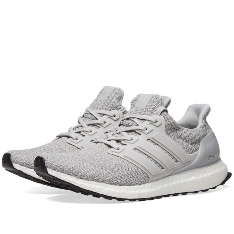Adidas Ultra Boost 4.0 Ash Pearl grey BB6174 Men's PK Black White