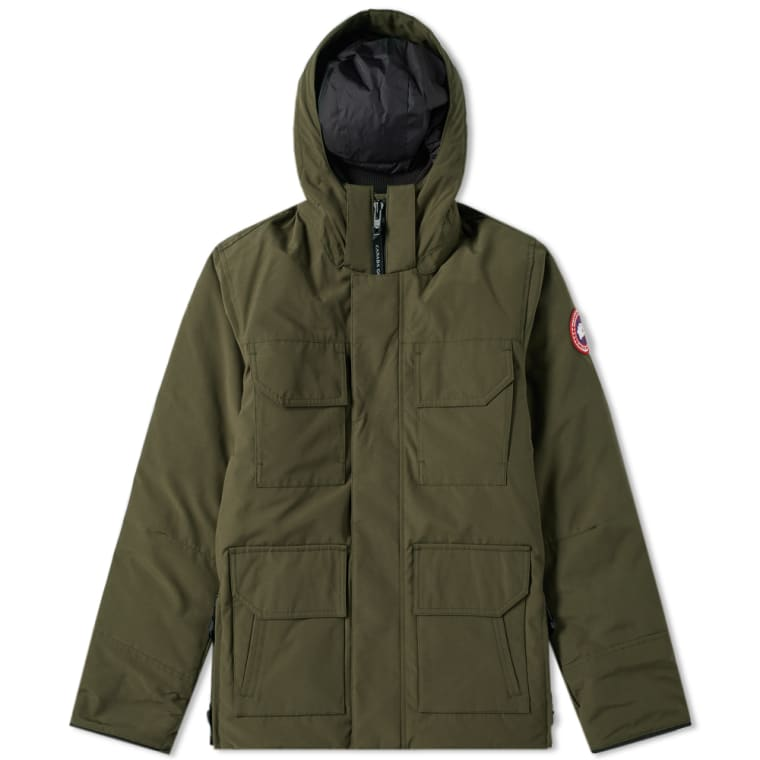 CANADA GOOSE MAITLAND PARKA in MILITARY GREEN