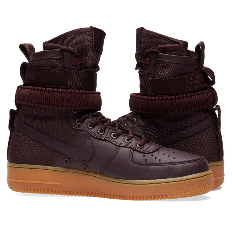new styles 9824e 827c8 ... 864024-600 Nike SF Air Force 1 Boot Deep Burgundy 7 ...