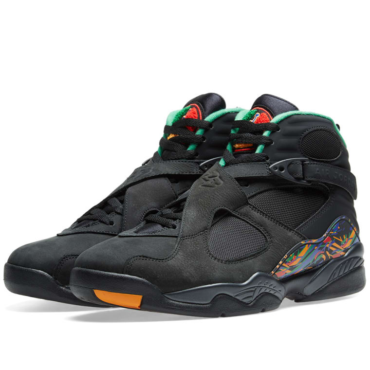 Air Jordan 8 Retro 'MJ X Tinker' Black, Concord & Aloe Verde 1