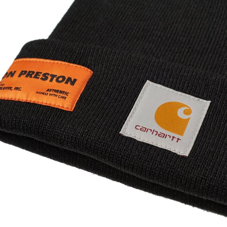 Heron Preston x Carhartt Beanie (Black   Crystal)  09d36eac1d2