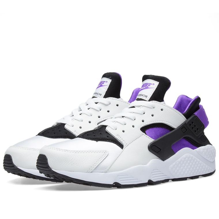 0ba24ab62c29d ... discount code for nike air huarache run 91 black purple punch white 1  80307 69489