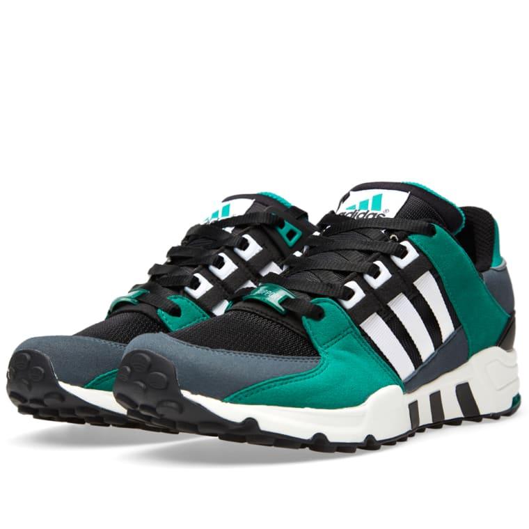 Adidas EQT Running Support  93 (Black   Sub Green)  ffe5b11fc