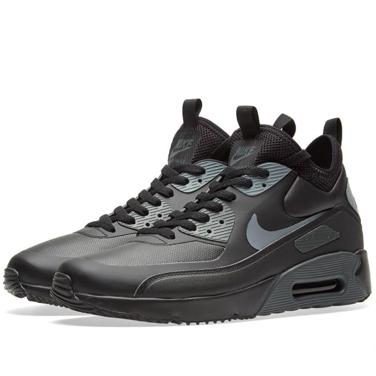 Nike Air Max 90 Ultra Mid Winter Black, Cool Grey \u0026 Anthracite 1