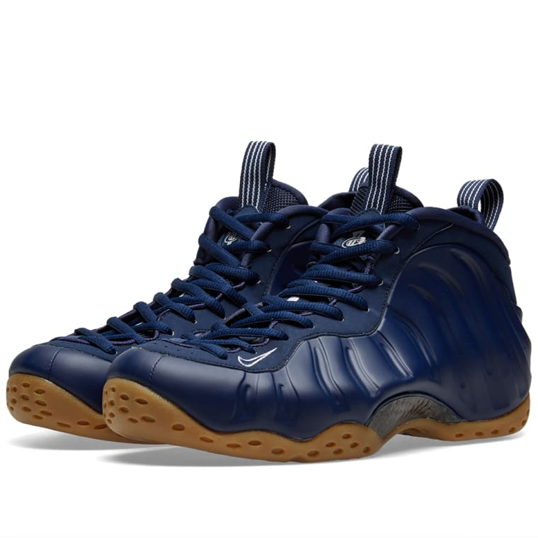 e2364fbe39b ... new style nike air foamposite one navy light brown white 1 328d8 2f0be
